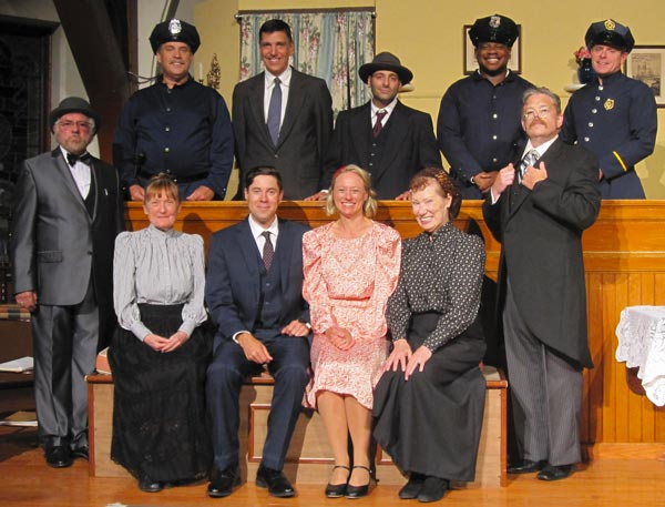 "Meet the cast of ELTC's ""Arsenic and Old Lace"" at an after-show Q&A"
