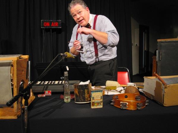 East Lynne Theater Presents Sherlock Holmes In Radio Broadcast Style