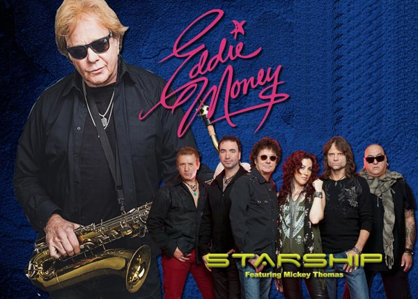 Eddie Money and Starship featuring Mickey Thomas to Perform at UCPAC