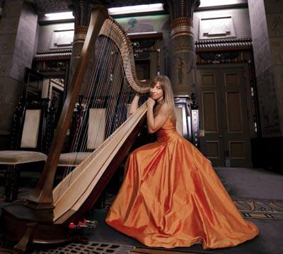 Music at Bunker Hill Presents Elizabeth Hainen Solo Harp Recital