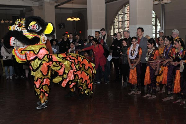 The National Park Service and  Nai-Ni Chen Dance Company present the Ellis Island Asian American Heritage Festival