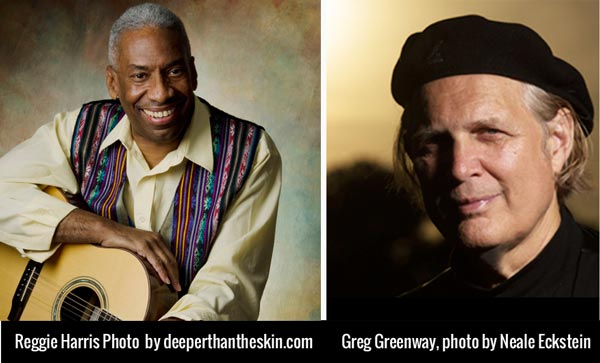 """Ethical Brew Presents Reggie Harris and Greg Greenway with """"Deeper Than The Skin"""""""