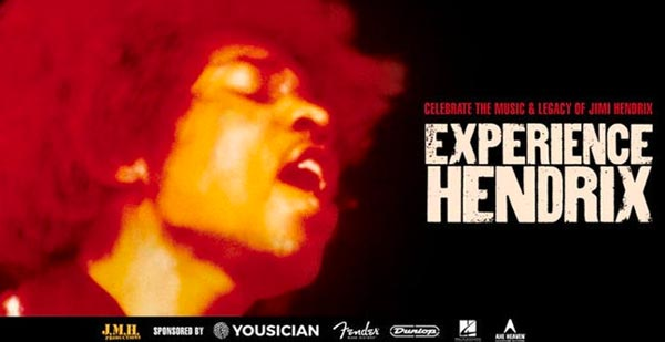 Experience Hendrix at NJPAC on March 29th