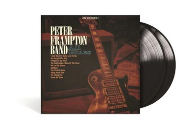 "Peter Frampton Releases Double Vinyl of ""All Blues"""