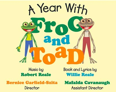 "Center Players Dessert Theater Presents ""A Year With Frog and Toad"""
