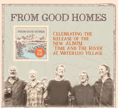 From Good Homes To Celebrate CD Release At Waterloo Concert Field