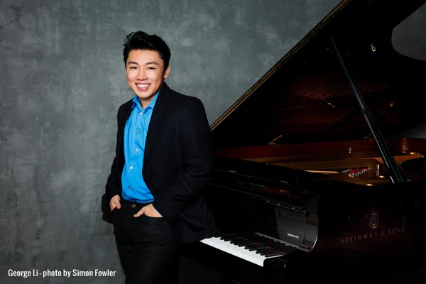 NJSO presents Rachmaninoff's Third Piano Concerto with George Li