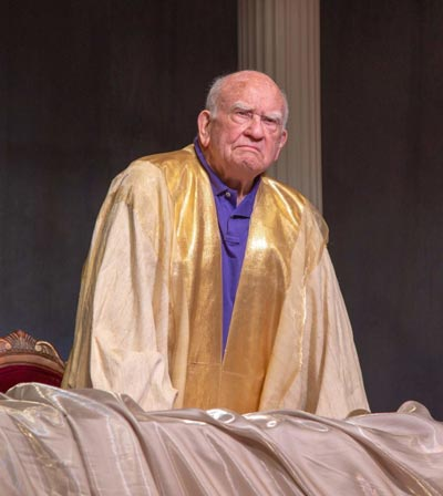 "Sick of Politics? ""God Help Us!"" starring Ed Asner at UCPAC is for you"