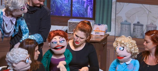 "The Golden Girls Like You've Never Seen Them Before - ""That Golden Girls Show - A Puppet Parody"" at Avenel Performing Arts Center"