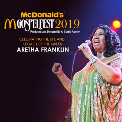 McDonald's Gospelfest To Celebrate The Life of Aretha Franklin With Return to Prudential Center