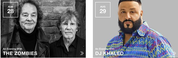 GRAMMY Museum Experience Prudential Center Closes Out Summer With Events Featuring The Zombies and DJ Khaled