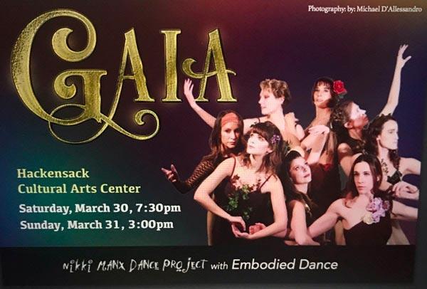 Nikki Manx Dance Project presents GAIA