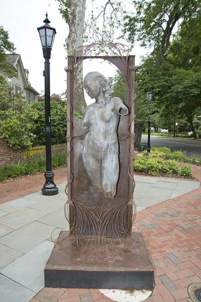 April Is Haddonfield Sculpture Month