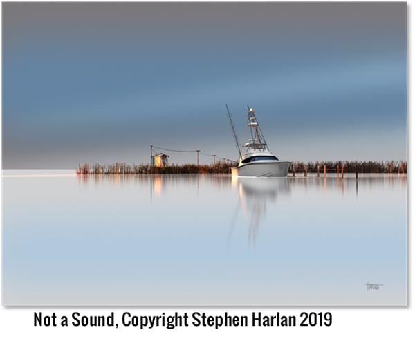 Ocean Galleries Presents Stephen Harlan - Water's Edge