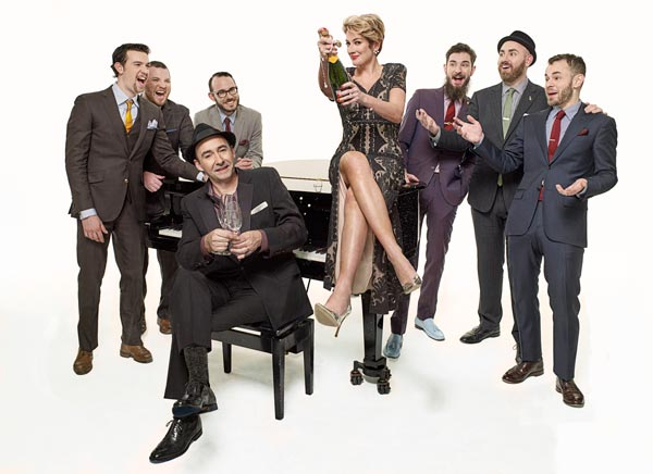 The Hot Sardines Bring Their Holiday Stomp To SOPAC On December 14