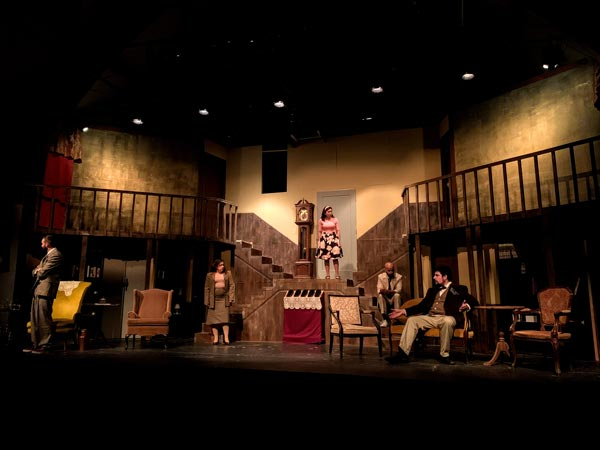 """interACT Theatre Productions presents the world premiere of Tommy Jamerson's """"The House On Haunted Hill"""""""