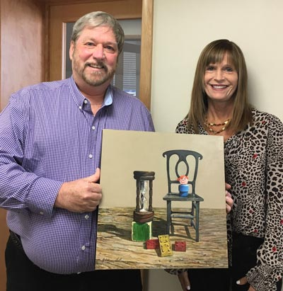 Jerry Cable Awarded Top Prize At The Art of Time Exhibition