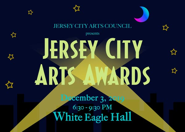 2nd Annual Jersey City Arts Awards To Take Place December 3rd