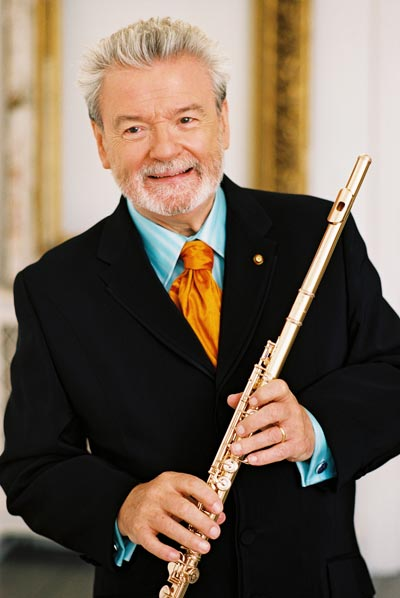 State Theatre Presents Sir James Galway For St. Patrick's Day Performance