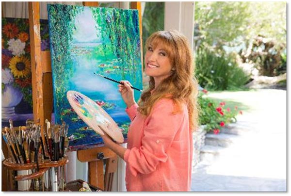 "Ocean Galleries Presents ""Jane Seymour: California Colorist"""