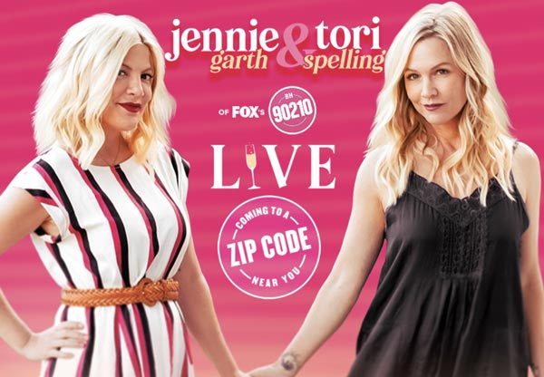 Jennie Garth & Tori Spelling Live At Mayo Performing Arts Center