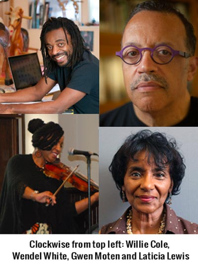 Arts Luminaries at Workshop on African American History