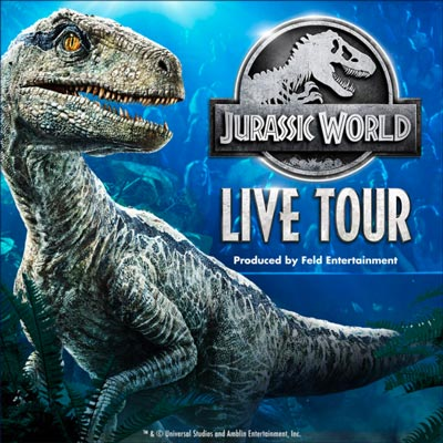 Prudential Center Presents Jurassic World Live