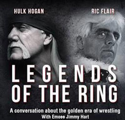 "Hard Rock Hotel & Casino Hosts ""Legends of The Ring"" with Hulk Hogan and Ric Flair"
