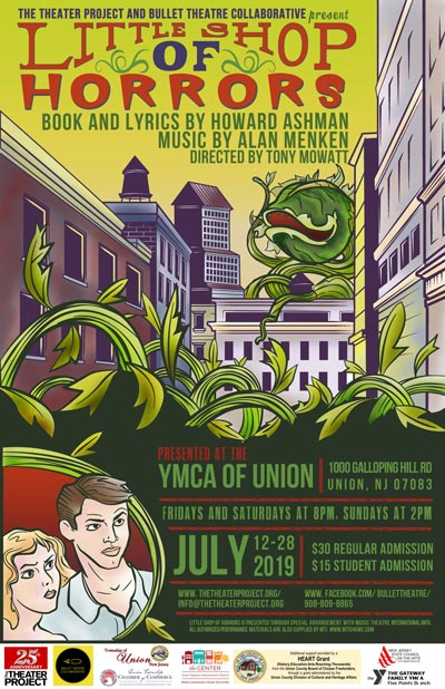 """Bullet Theatre Collaborative & The Theater Project Present """"Little Shop of Horrors"""""""