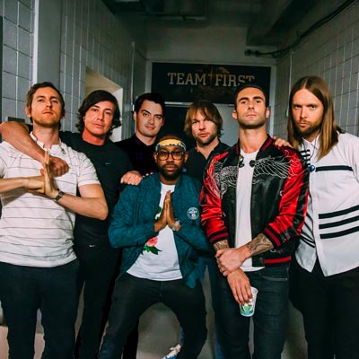Maroon 5 To Perform In Camden
