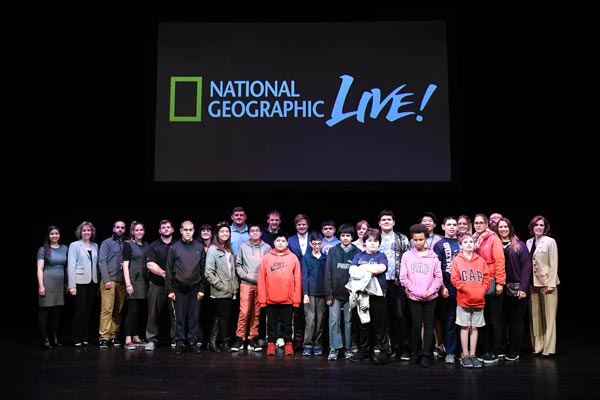 Students from Parsippany among those to hear National Geographic Live Speaker Bertie Gregory at MPAC