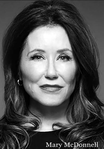 "Mary McDonnell To Star In ""Gloria: A Life"" at McCarter Theatre Center"