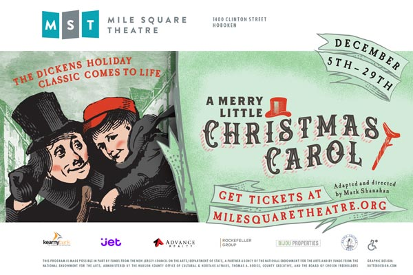"Mile Square Theatre Presents ""A Merry Little Christmas Carol"""