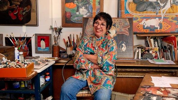 Mimi Vang Olsen: Pet Portraitist