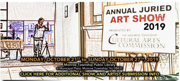 Monroe Township Cultural Arts Commission To Hold Annual Juried Art Show 2019