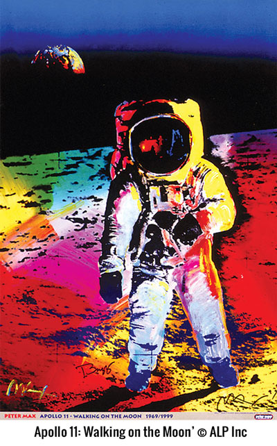 Peter Max & the Moon Landing