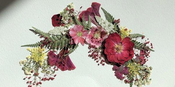Victorian Pressed Flower Workshop at Morven