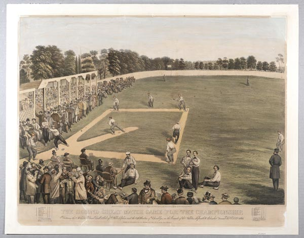 Morven Museum & Garden presents New Jersey Baseball: From the Cradle to the Major Leagues, 1855–1915