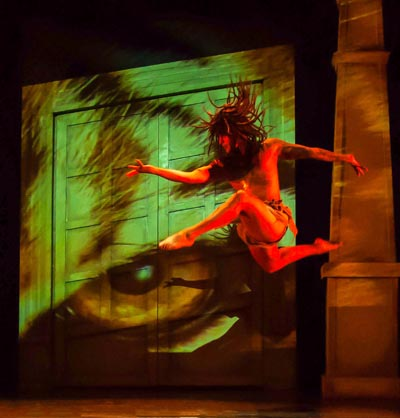"""David Felicie Goes From the Air Force to Ballet """"In One Leap"""" As Mowgli in Axelrod's """"The Jungle Book"""""""