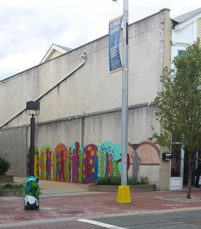 """Damien Mitchell Selected to Create Public Art: """"Demarest Place Walkway Mural"""""""