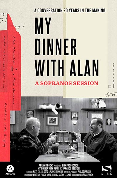 """""""My Dinner With Alan: A Sopranos Session"""" To Be Screened At Garden State Film Festival"""