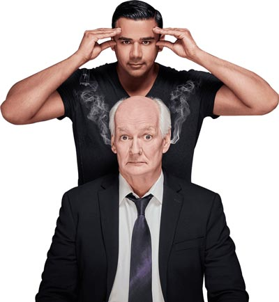 Newton Theatre Presents Colin Mochrie and Asad Mecci with Improv Under Hypnosis