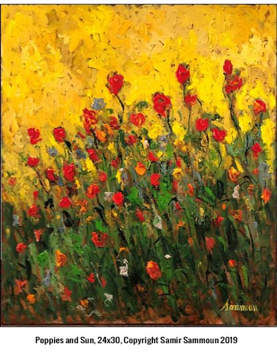 Impressionist, Samir Sammoun, To Exhibit At Ocean Galleries Memorial Day Weekend