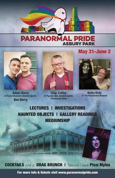 Paranormal Pride focuses on the Spirits of Asbury Park