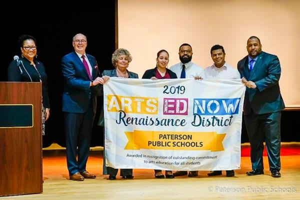 Paterson Public Schools Recognized with 2019 ARTS ED NOW Renaissance District Award
