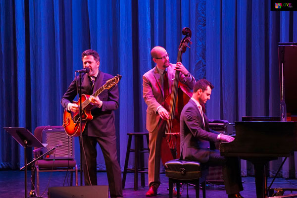 """A Joy to Watch!"" John Pizzarelli Salutes the Music of Nat King Cole LIVE! at the Grunin Center"