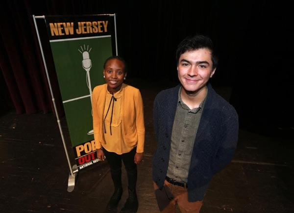 Joseph G. Kim Sexton Named State Champion at 2019 New Jersey Poetry Out Loud