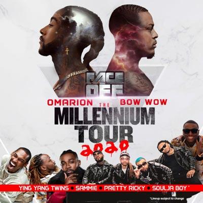 Millennium Tour 2020 Comes To Prudential Center