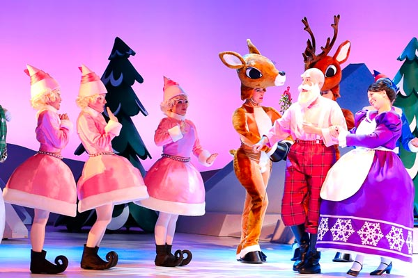 Rudolph the Red-Nosed Reindeer: The Musical Comes To BergenPAC and Count Basie