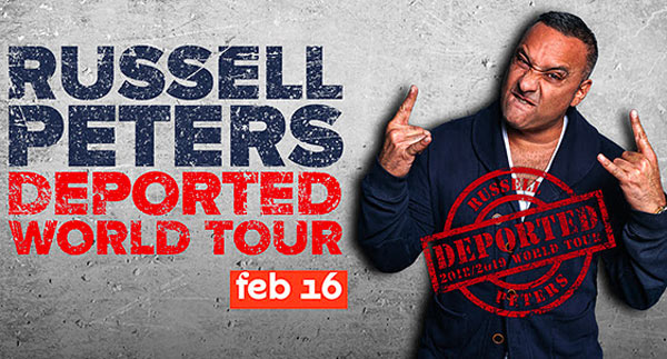 Russell Peters To Perform Two Shows at NJPAC